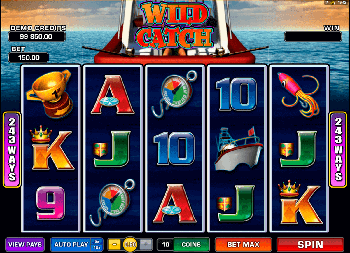 Wild Catch Slot Game Review & Guide for Players